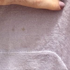 J. Crew Sweaters - J.Crew Lavender Wool Sweater w/ ribbed sides